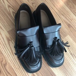 Dark Brown Chunky Loafers